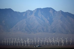 2010 Environment in China: Wind power In China's Northwest Region