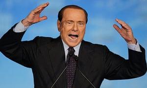 Silvio Berlusconi has called live TV shows before
