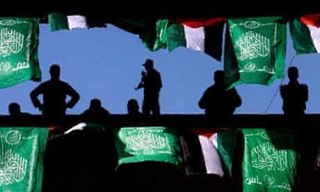 Hamas security guards, Palestine