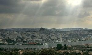 Aida refugee camp in Bethlehem