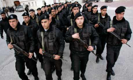 Palestinian special guards