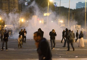 Egypt protests night: Egyptian anti-government protests