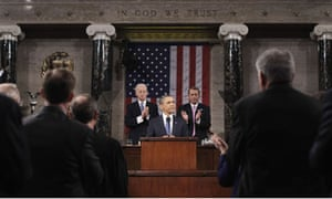 Barack Obama delivers his State of the Union address on Capitol Hill in Washington