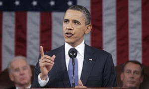 Barack Obama delivers his State of the Union address