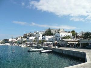 Swimming, Greek islands: Greek islands harbour
