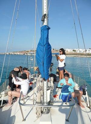 Swimming, Greek islands: Greek islands mast