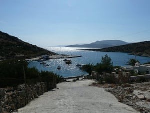 Swimming, Greek islands: Greek island view