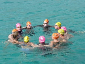 Swimming, Greek islands: Greek island group