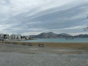 Swimming, Greek islands: Greek island beach2