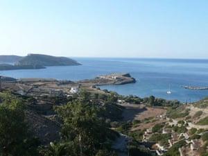 Swimming, Greek islands: Greek island view3