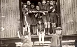 Yad Vashem: An image from a collection of photographs from DP camps