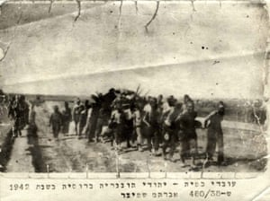 Yad Vashem: Jewish forced laborers from Hungary at work