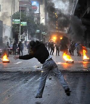 Egyptian Demos: Egyptian anti-government protests
