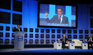 Nicolas Sarkozy Davos 2011