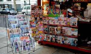 Newsstand in King's Cross