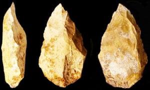 stone tools flints