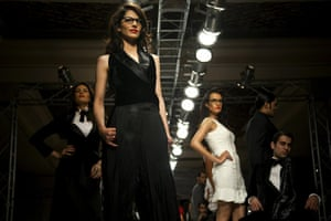 Islamabad Fashion Week: Models showcase the designs of Ammar Belal
