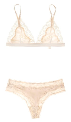 Key trends: lingerie: Bra and thong