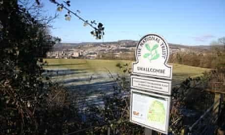 Bath skyline National Trust walk