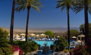 Pool view of The Lodge at Rancho Mirage Palm Springs California