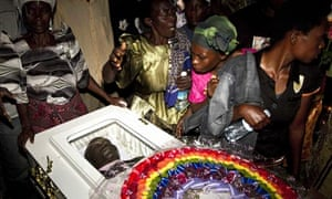 David Kato's funeral