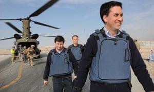 Ed Miliband visits Afghanistan