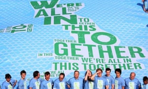 We're all in this together - Conservative banner