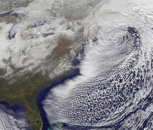Satellite Eye on Earth: Snow storm US