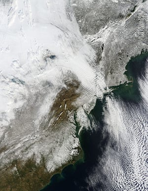 Satellite Eye on Earth: A severe winter storm in US