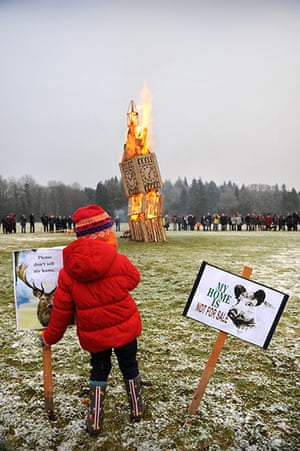 Forest of Dean Protest: Woodland selloff