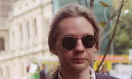 Julian Assange in 1995