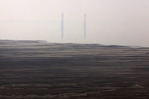 2010 Environment in China: Rare earth smelting plant, Baotou in China's Inner Mongolia