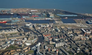 The biomass plant would be built on the water's edge at Leith dock