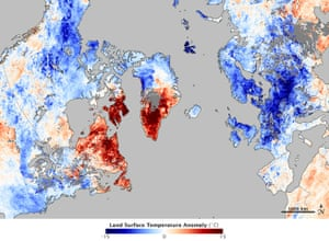 Satellite Eye on Earth: Arctic Oscillation Chills US and Europe