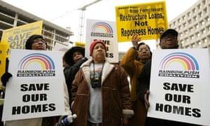 Sub-prime loans US foreclosures