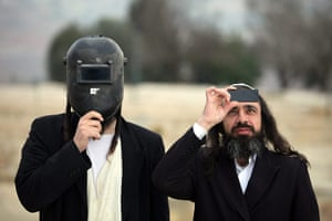 eclipse update: Ultra Orthodox Jews view partial solar eclipse in Jerusalem