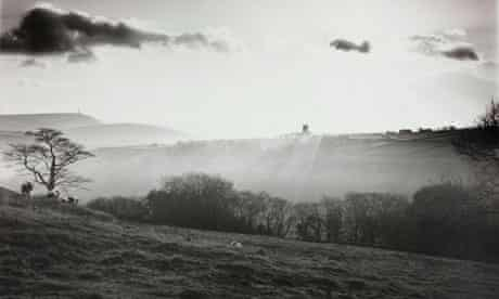 Heptonstall, backlit, Yorkshire 1978 by Fay Godwin