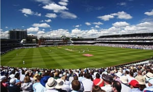 Sporting dreams: Lord's cricket ground