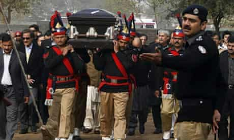Salman Taseer funeral