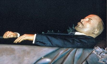 Lenin's embalmed corpse