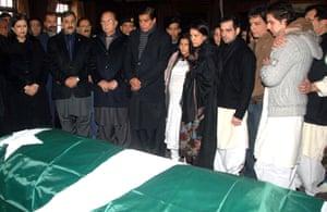 Salman Taseer Funeral: Funeral of Assasinated Punjab Governor Salman Taseer