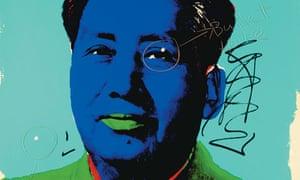 Chairman Mao Andy Warhol print