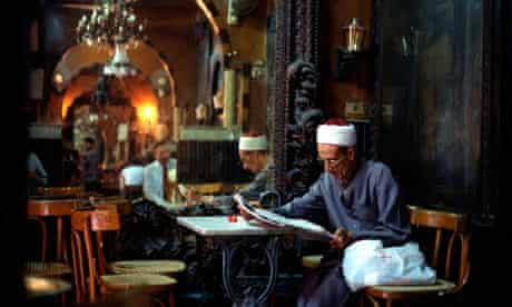 A cafe in Egypt