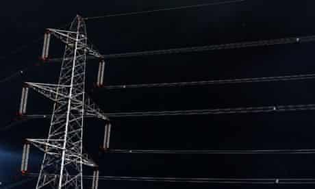 National Grid pylon