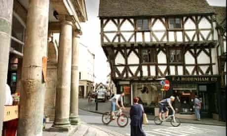 Ludlow town centre