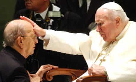 Pope John Paul II and Father Marcial Maciel Degollado