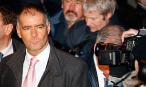 Tommy Sheridan at the Glasgow high court after his perjury conviction on 23 December 2009