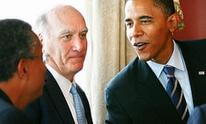 William Daley with Barack Obama in 2008