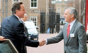 David Cameron and Andrew Cahn