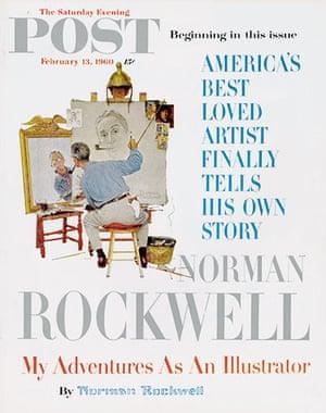 Norman Rockwell: Self-portrait